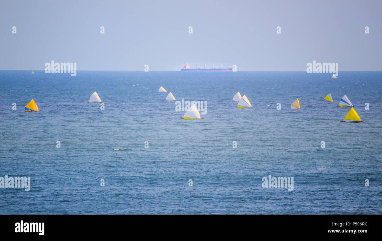 Calm at the sea - Stock Image