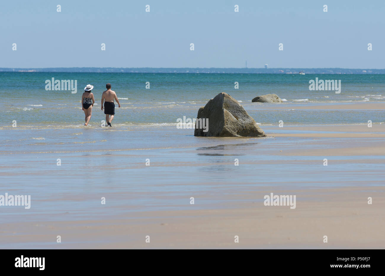 Walking on Cold Storage Beach East Dennis Massachusetts on Cape Cod USA & Walking on Cold Storage Beach East Dennis Massachusetts on Cape ...
