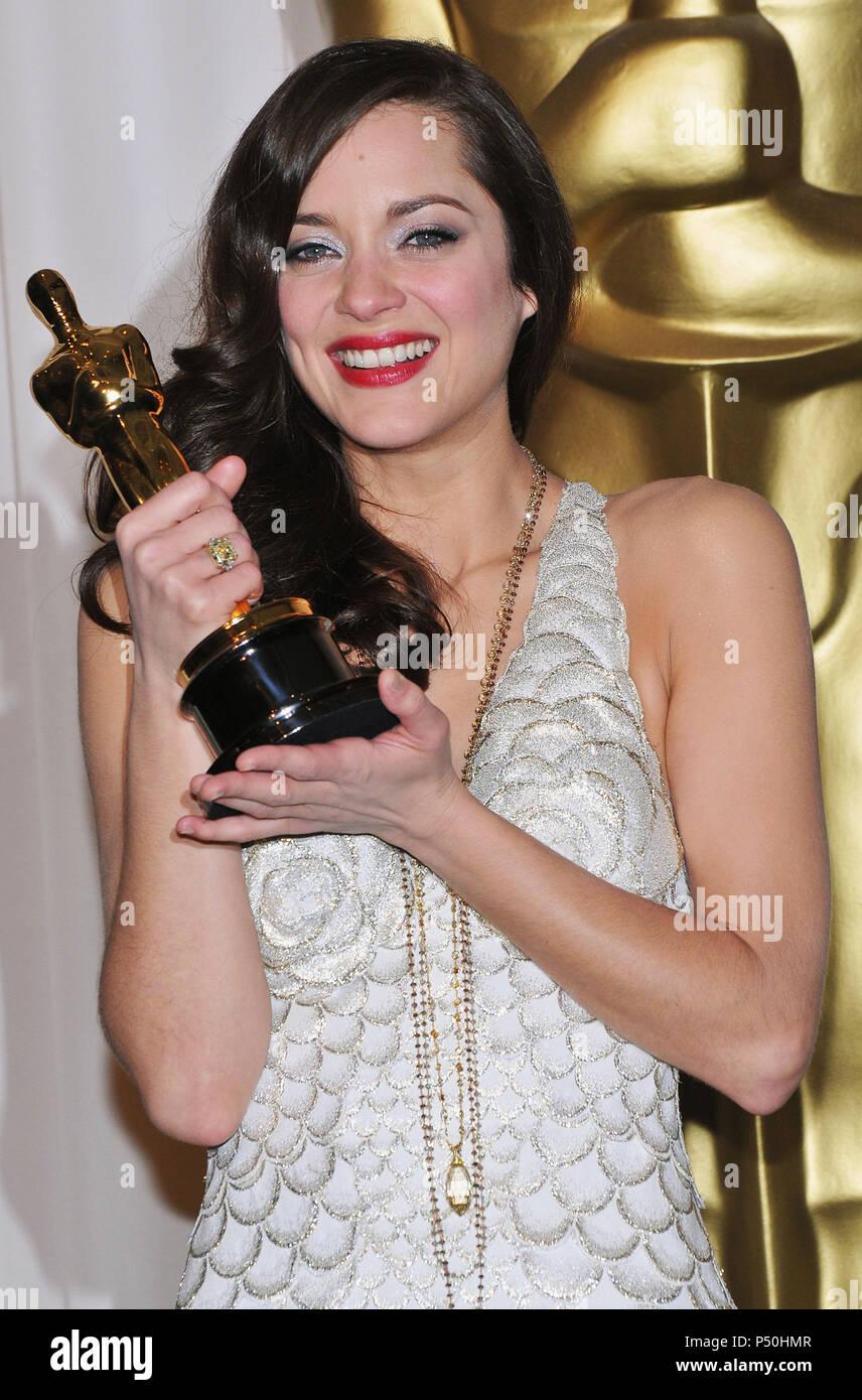 Marion Cotillard 80th Oscars Ceremony Press Room At The Kodak Theatre In Los Angeles Headshot Smile