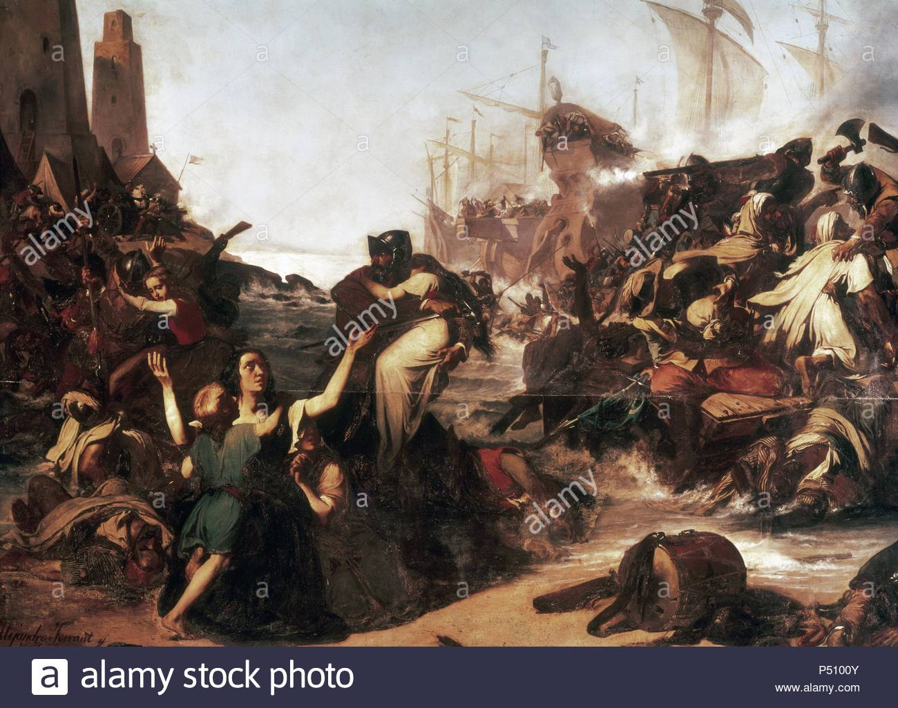 James Woods Decatur >> Barbary Pirate Stock Photos & Barbary Pirate Stock Images - Alamy