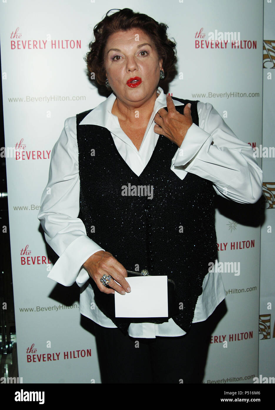 Tyne Daly arriving at the ASACP Honors Top Film and