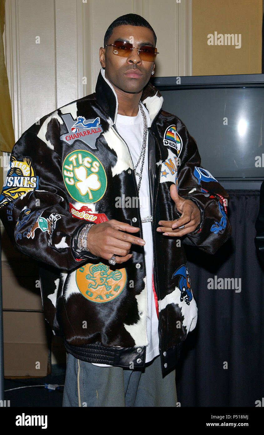 Ginuwine backstage at the 17th Annual Soul Train Music Awards at the