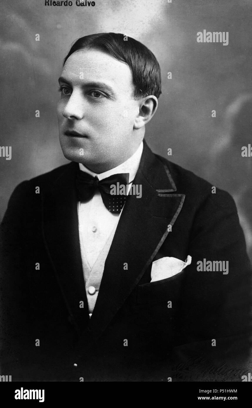 Ricardo Calvo Agostí (Madrid, 1875-1966), actor y director español. Stock Photo