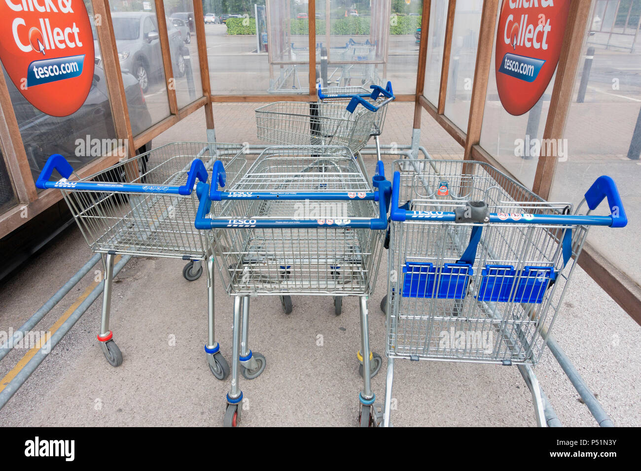 How to collect trolley 40
