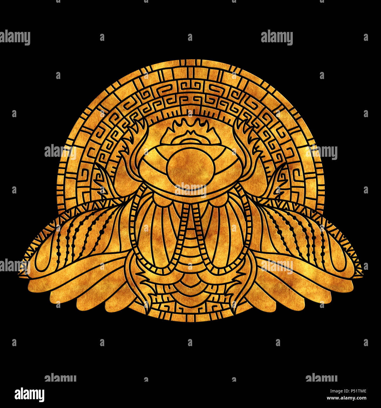 Egyptian Scarab Symbol Of Pharaoh Gods Ra Sun Mythology T Shirt