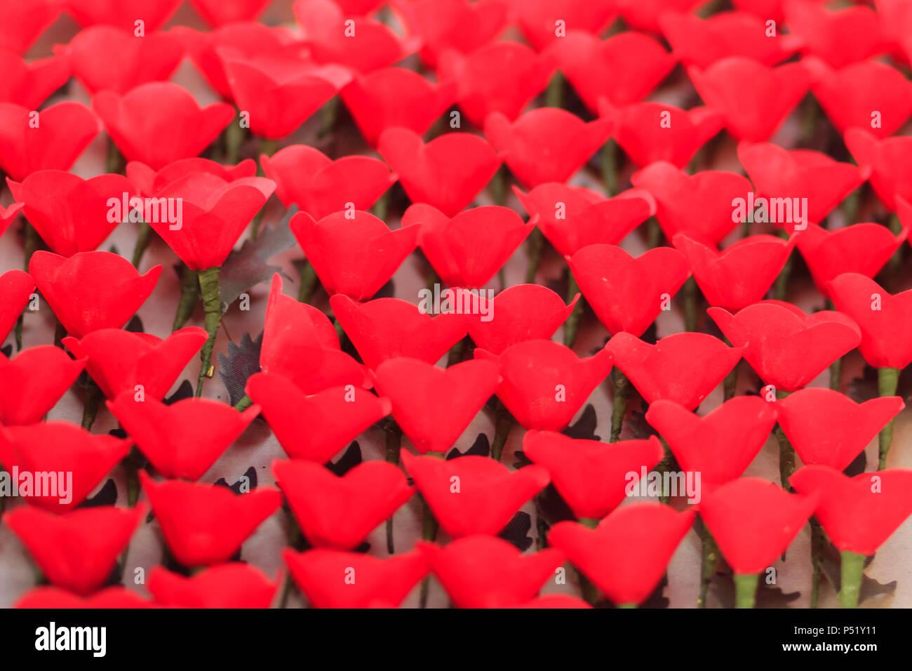 Beautiful red artificial flower poppy flower artificial is symbol beautiful red artificial flower poppy flower artificial is symbol of veterans day mightylinksfo