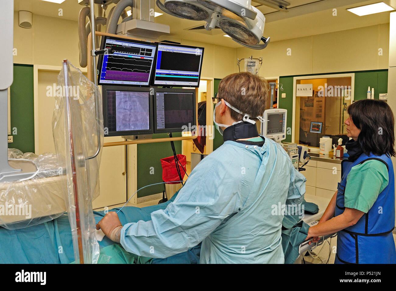 Germany, North Rhine-Westphalia-Kliniken Bergmannsheil in Bochum - Stock Image