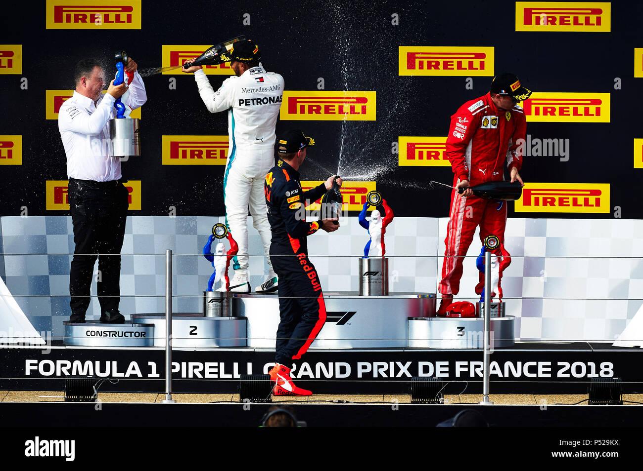 design de qualité 6e7fc fbc8d Le Castellet, France. 24 June 2018. French Formula One Grand ...