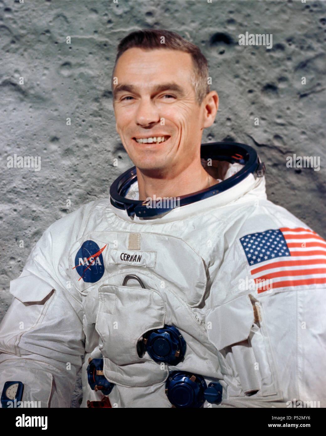 April 1969) - Astronaut Eugene A  Cernan, prime crew lunar