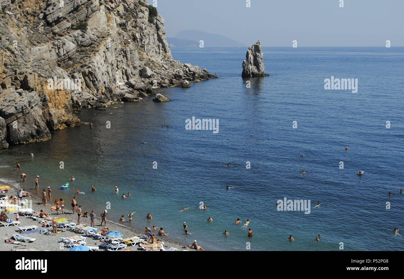 Such different coasts of Crimea