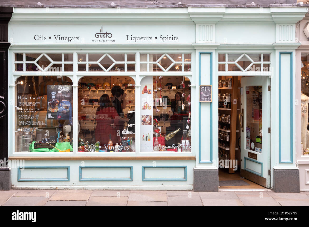 il Gusto store in York, Uk - Stock Image