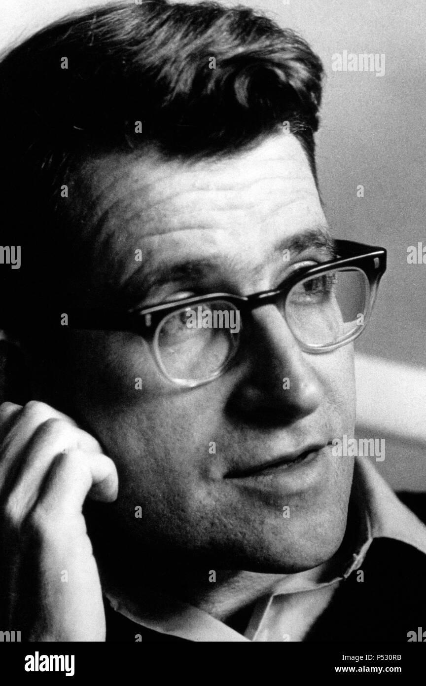 Noam Chomsky, American linguist. - Stock Image