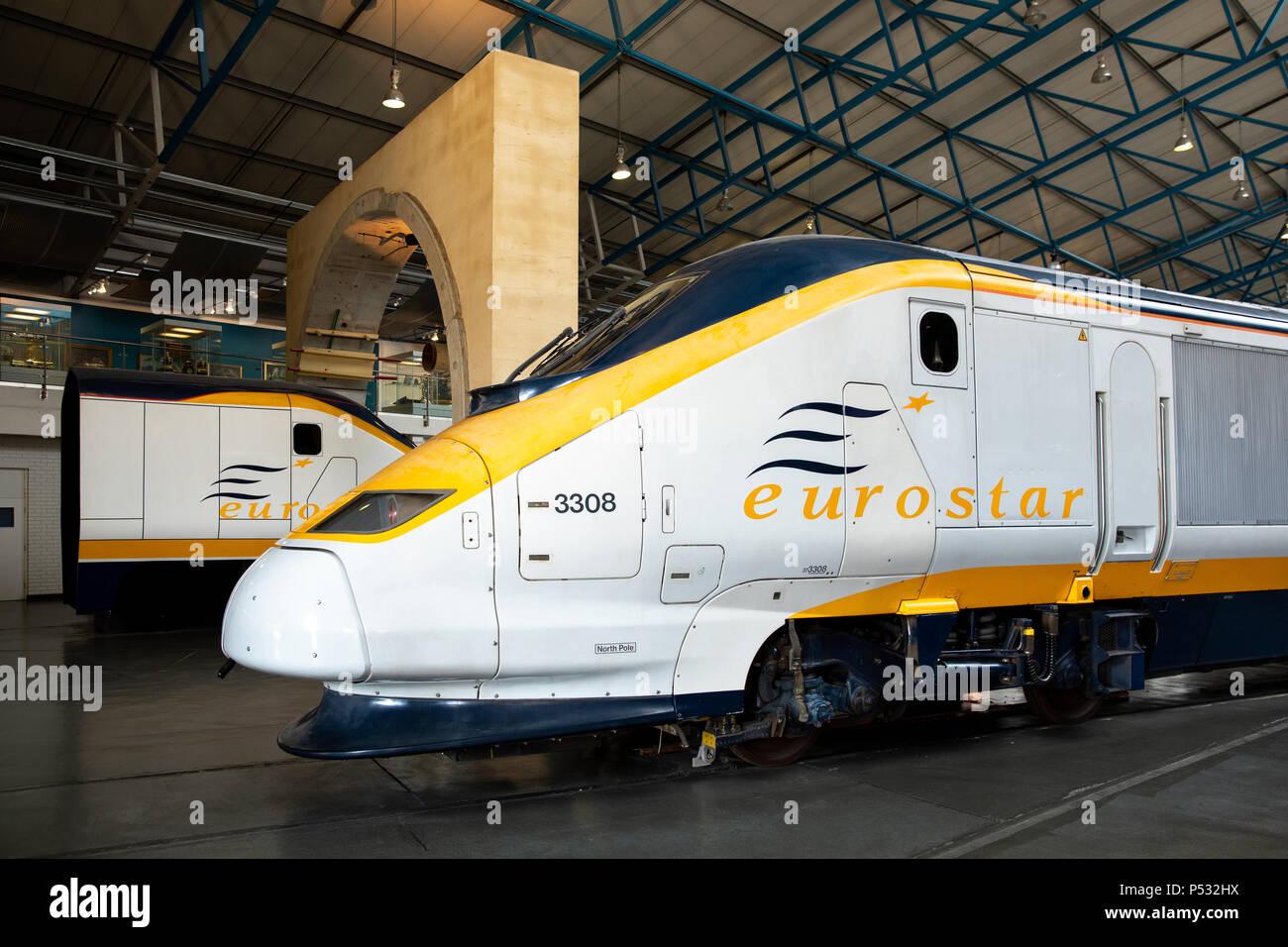 The National Railway Museum, York, England - Stock Image