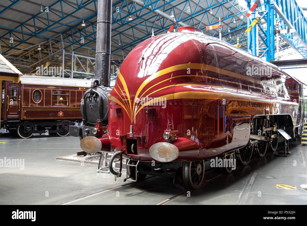 The National Railway Museum, York, England - Stock Image