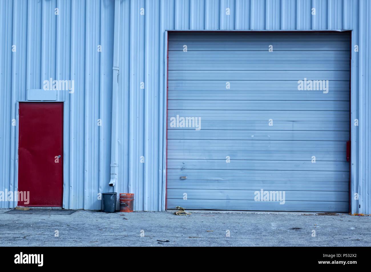 Roller Shutter Door Sign Stock Photos Amp Roller Shutter