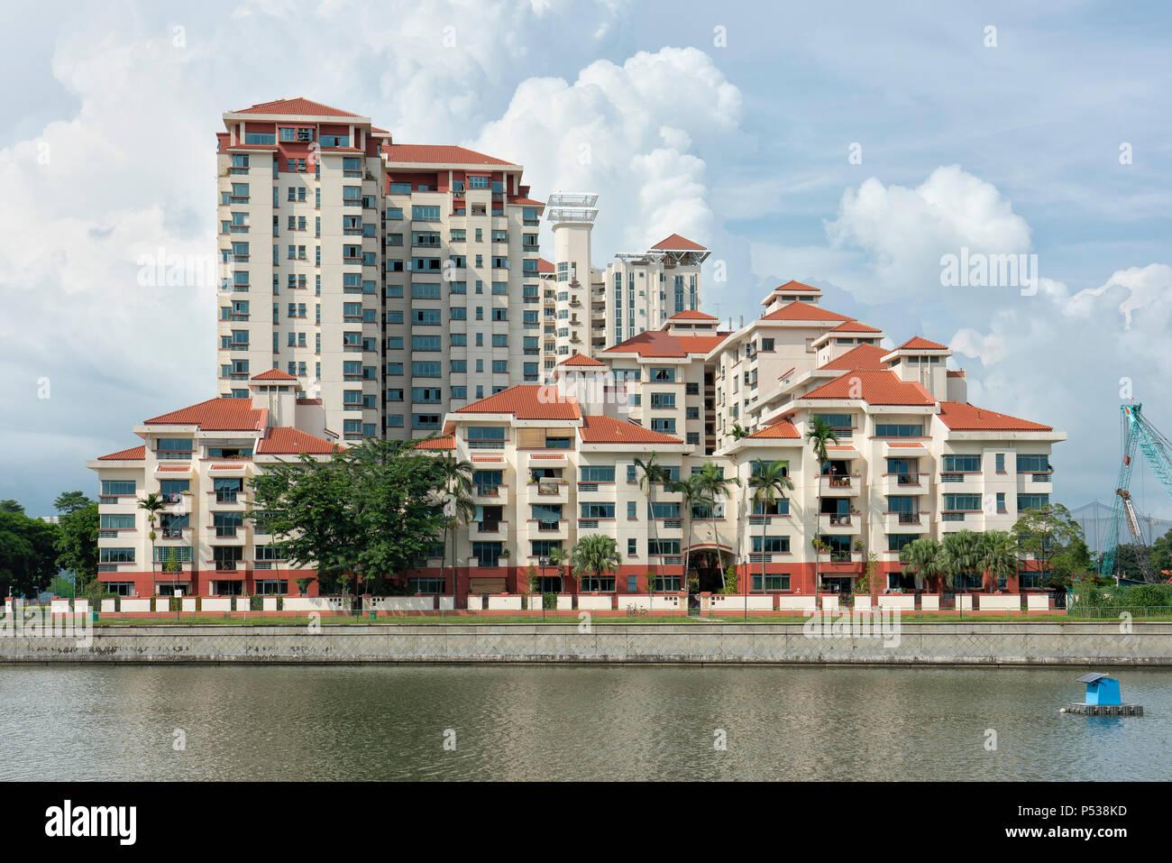 Casuarina Cove Condominium, a  property located at Tanjong Rhu Road - Stock Image