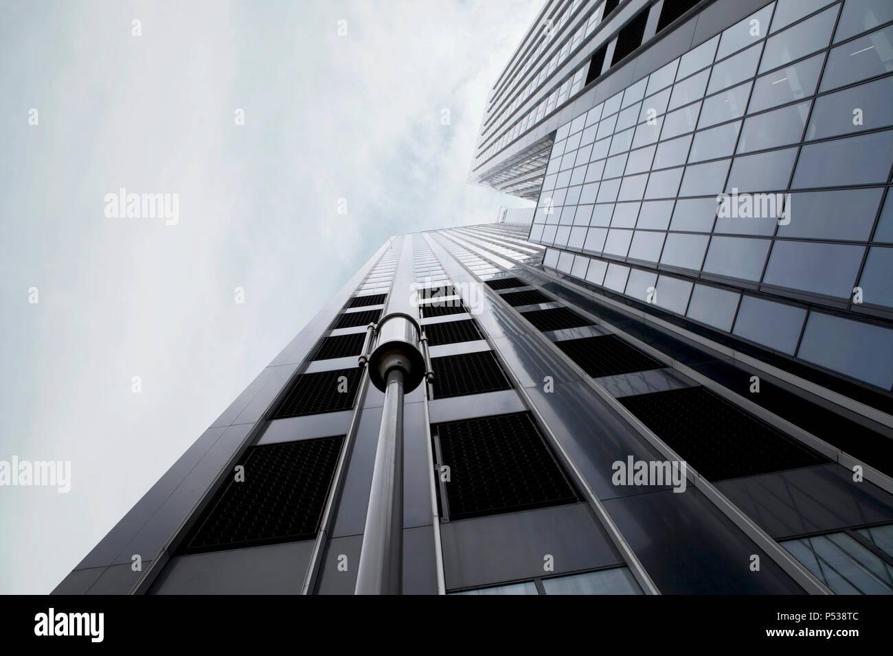 Skyscraper in Rotterdam - Stock Image