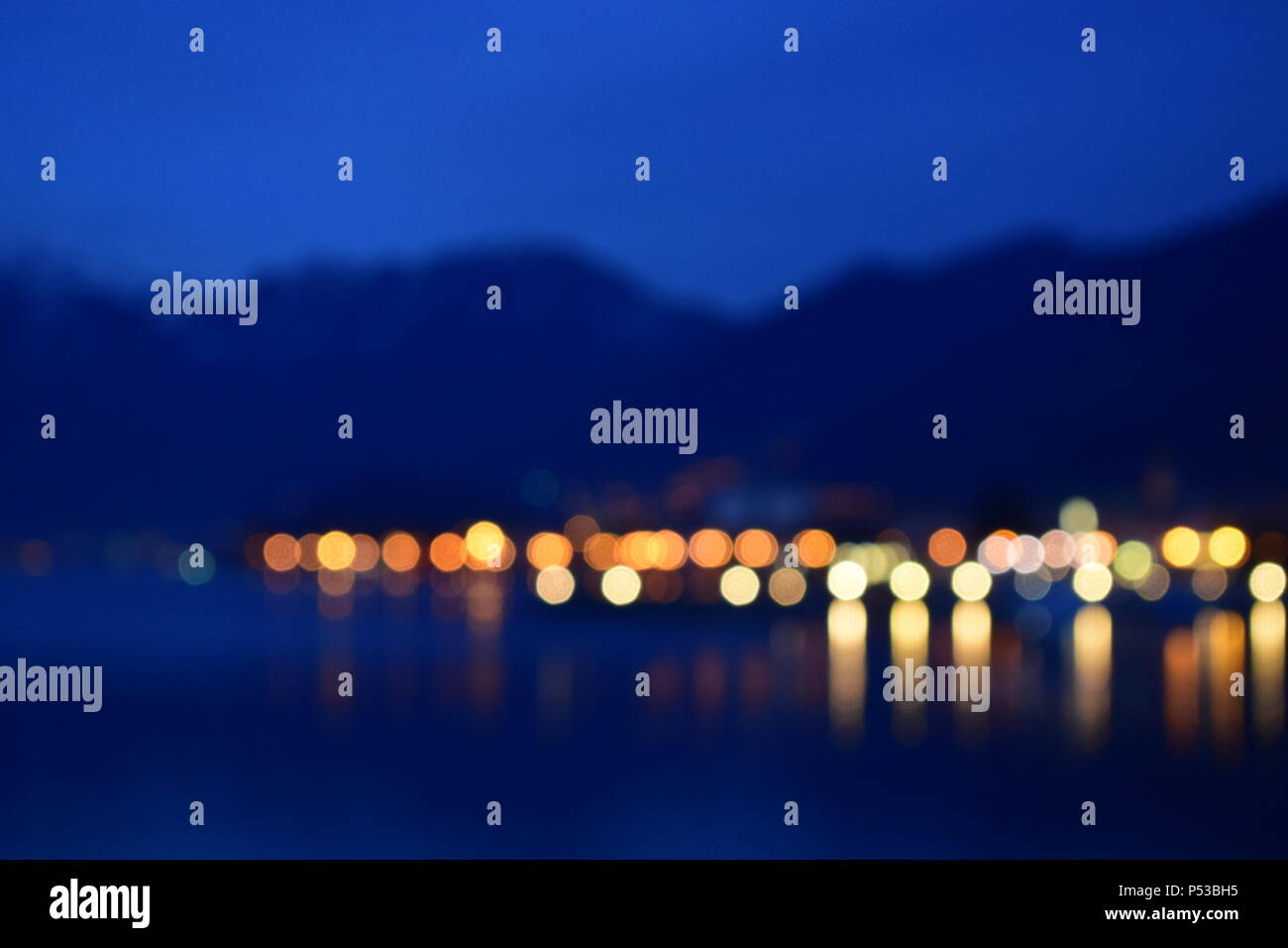 view o iseo lake - Stock Image