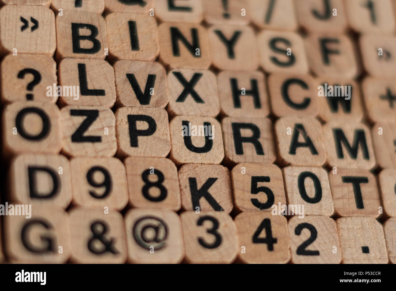Typeset Letters Stock Photos & Typeset Letters Stock Images