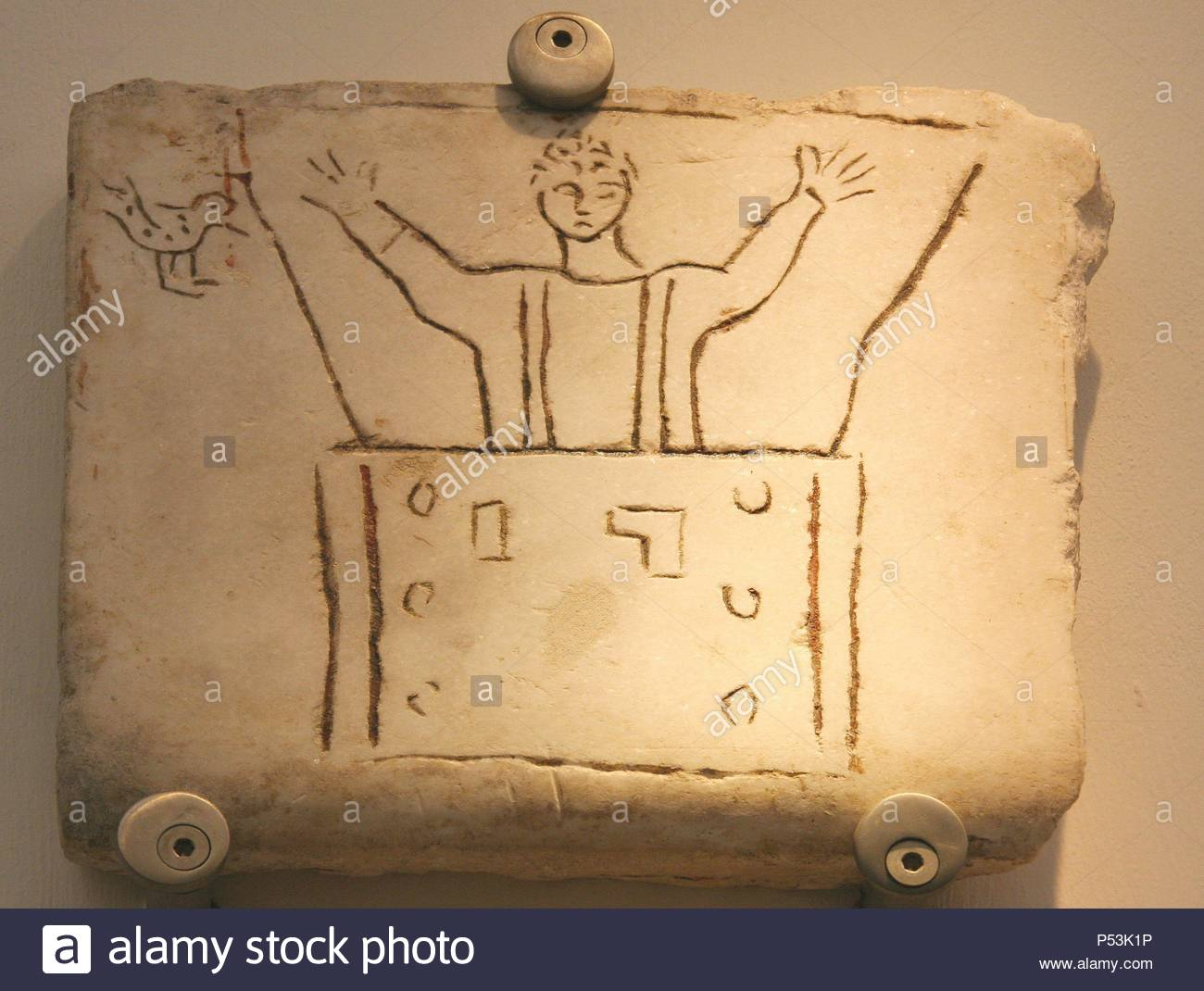 Early Christian Art Italy Early Christians Roman Tombstone With
