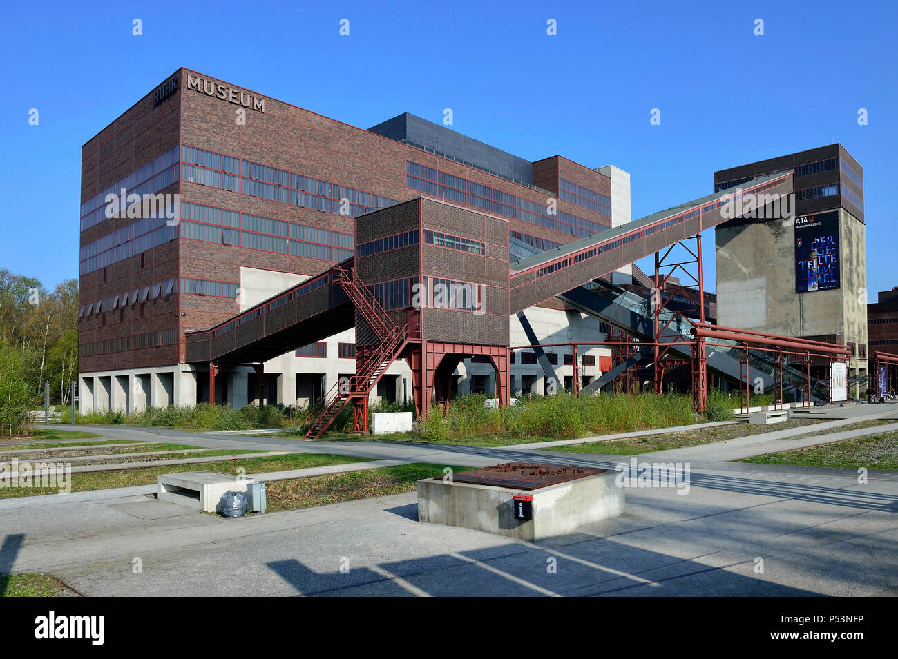 Germany, North Rhine-Westphalia World Cultural Heritage Zeche Zollverein - Stock Image