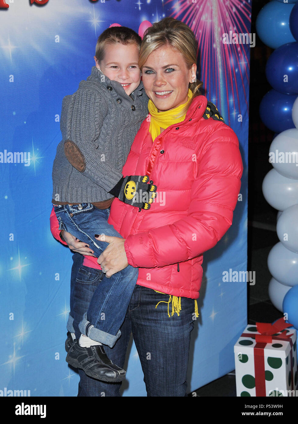 Alison Sweeney Family Pictures alison sweeney, son - let s celebrate disney on ice at the