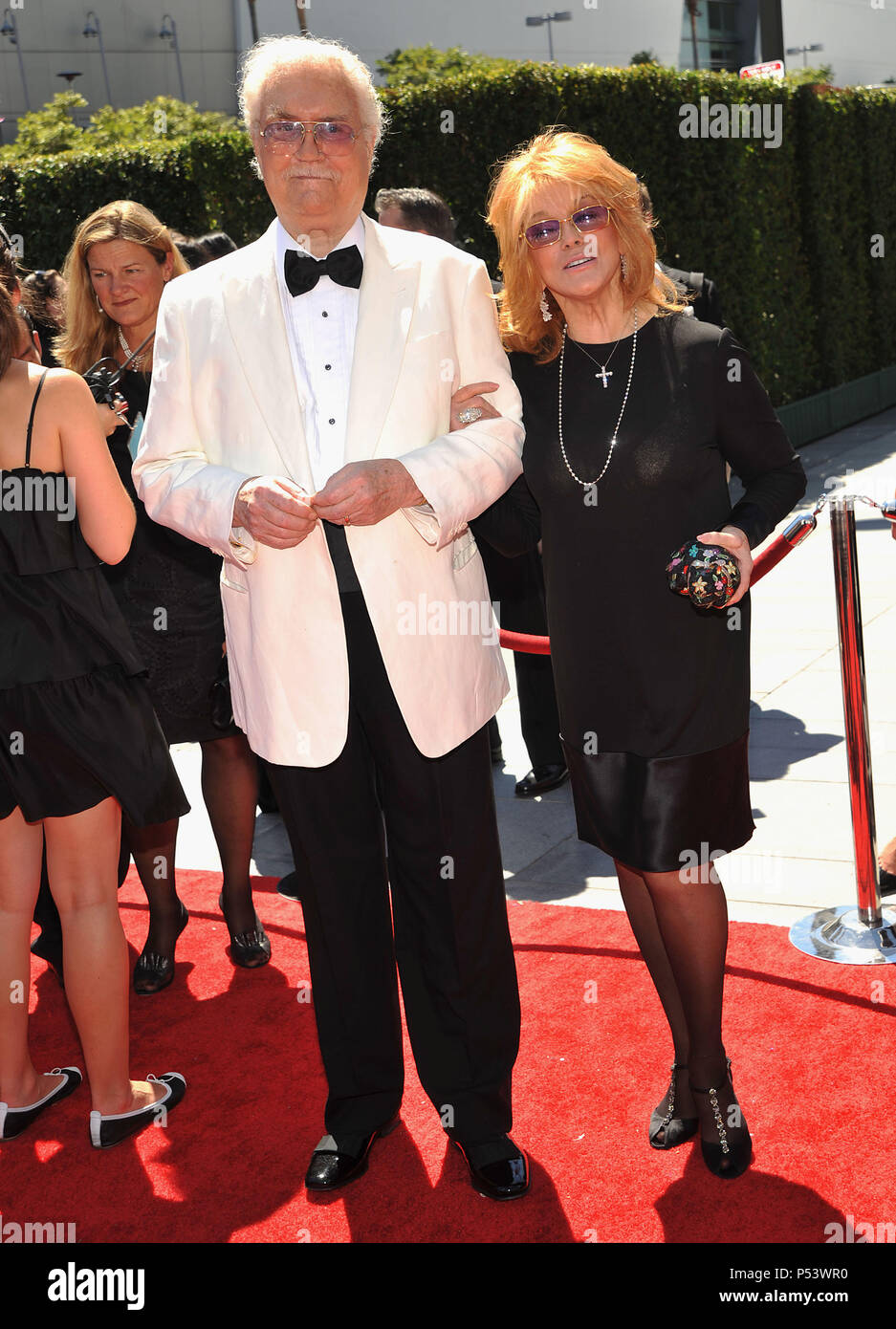 Ann-Margret and Roger Smith 2010 Creative Emmy Awards at the Nokia Theatre In Los Angeles.AnnMargret_RogerSmith_95  Event in Hollywood Life - California, Red Carpet Event, USA, Film Industry, Celebrities, Photography, Bestof, Arts Culture and Entertainment, Celebrities fashion, Best of, Hollywood Life, Event in Hollywood Life - California, Red Carpet and backstage, Music celebrities, Topix, Couple, family ( husband and wife ) and kids- Children, brothers and sisters inquiry tsuni@Gamma-USA.com, Credit Tsuni / USA, 2010 - Stock Image