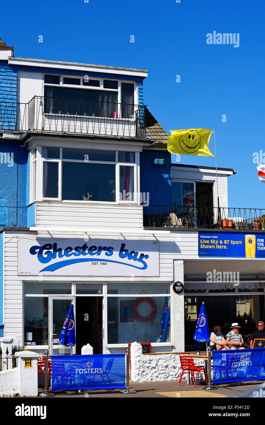Chesters Bar Eastern Esplanade Southend On SEa Essex UK Formerly Thames Estuary Automobile Club TEAC Members Only
