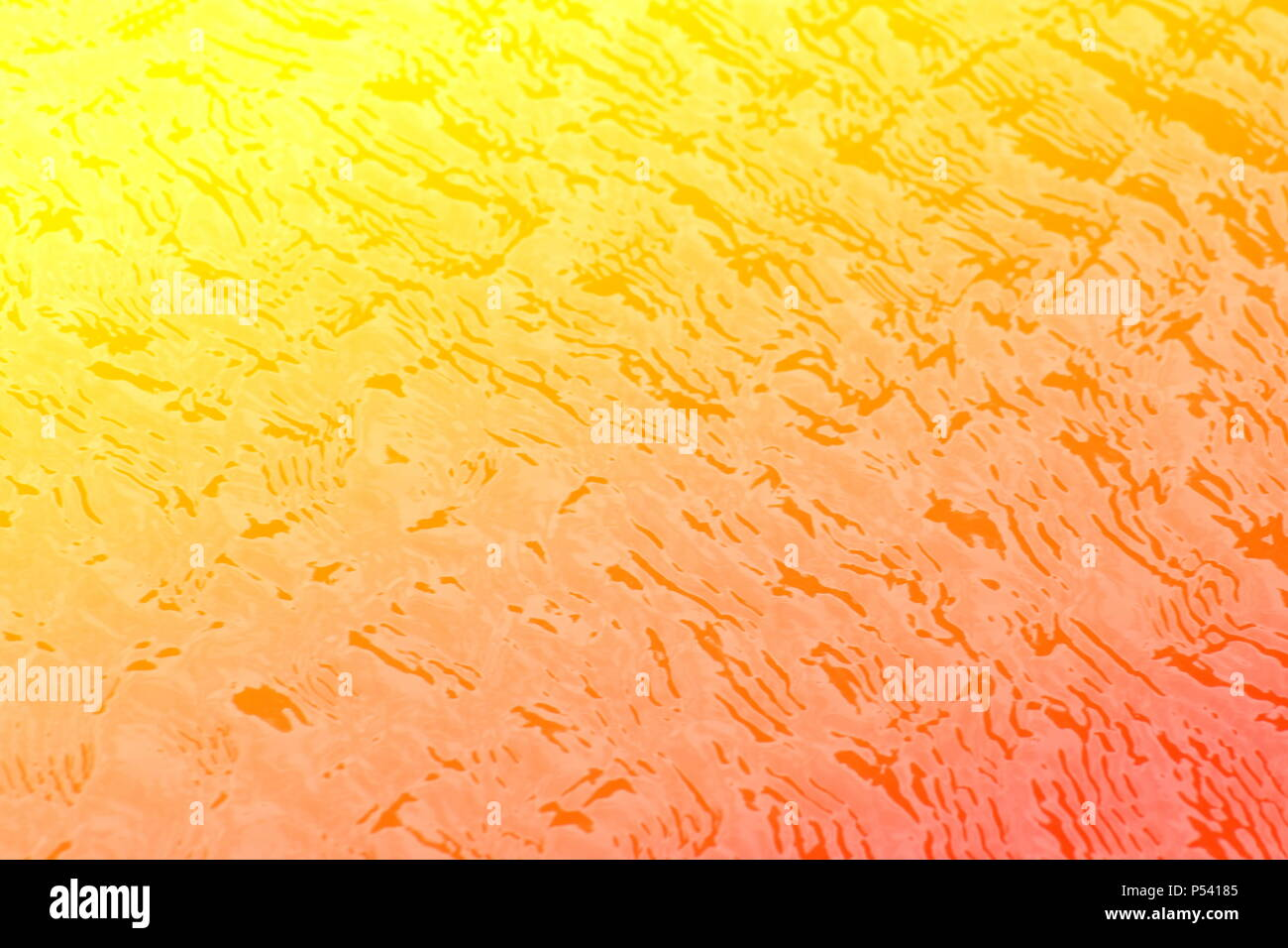 Abstract background of colorful ripples on water. - Stock Image
