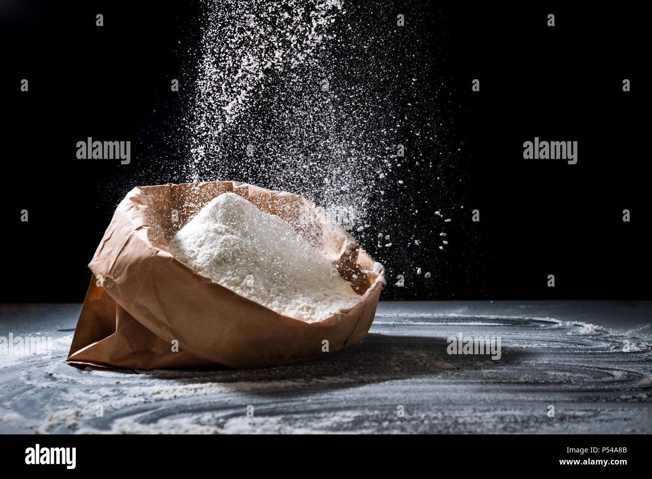 Bag Of Flour Stock Photos Amp Bag Of Flour Stock Images Alamy