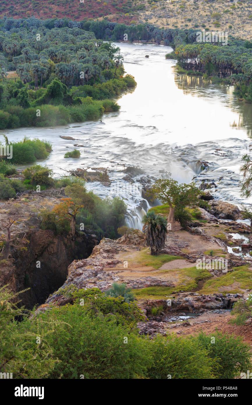 Epupa Falls, Kunene Region, Namibia - Stock Image