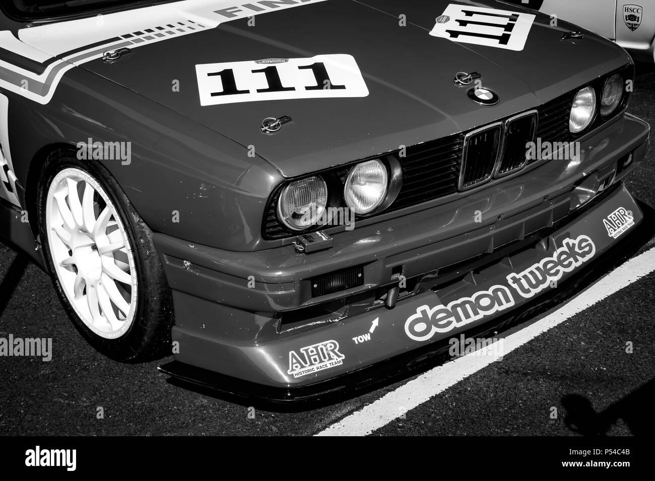 Classic BMW M3 E30 racing car Stock Photo
