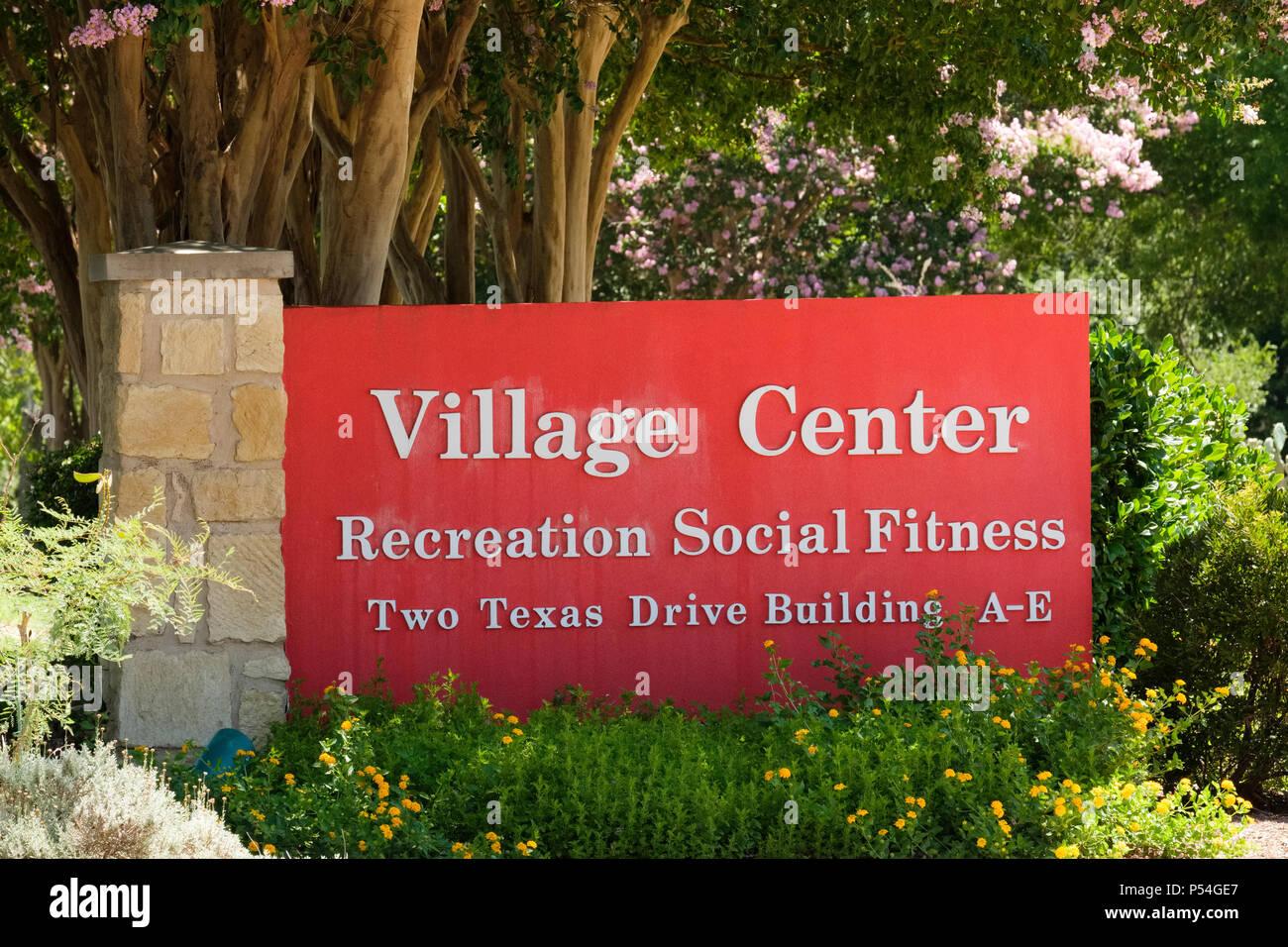 Retirement Village Sign Stock Photos & Retirement Village