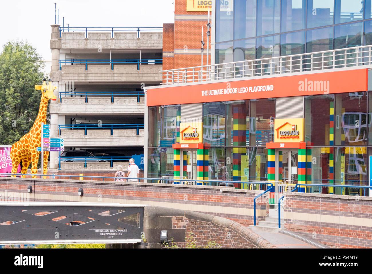Lego Playground, Birmingham, UK Stock Photo