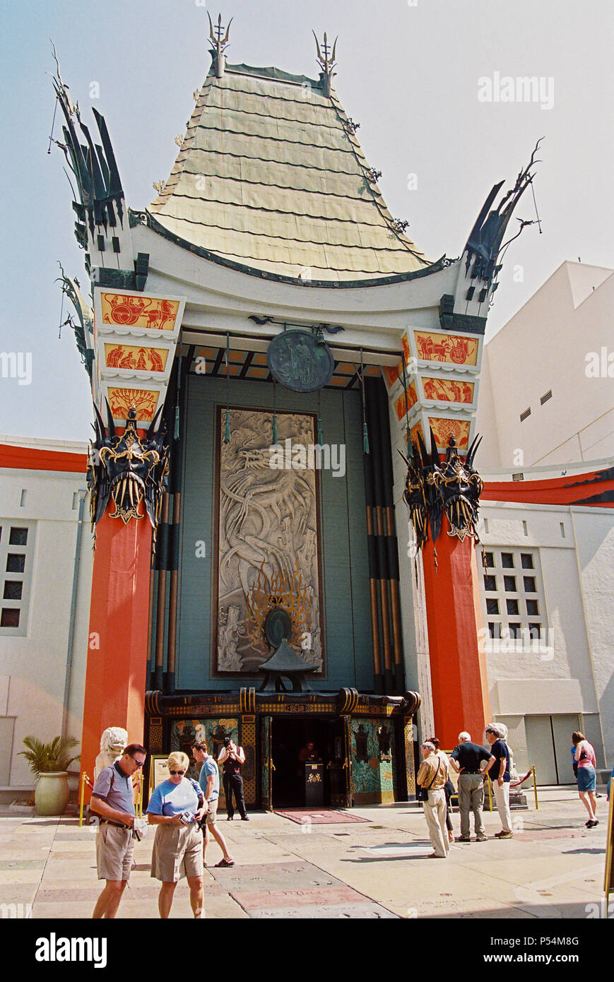 Grauman's Chinese Theatre, Hollywood Boulevard, Hollywood, Los Angeles, California, United States of America. - Stock Image