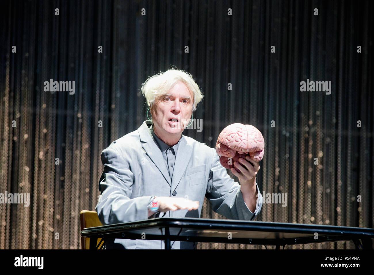 David Byrne - Stock Image