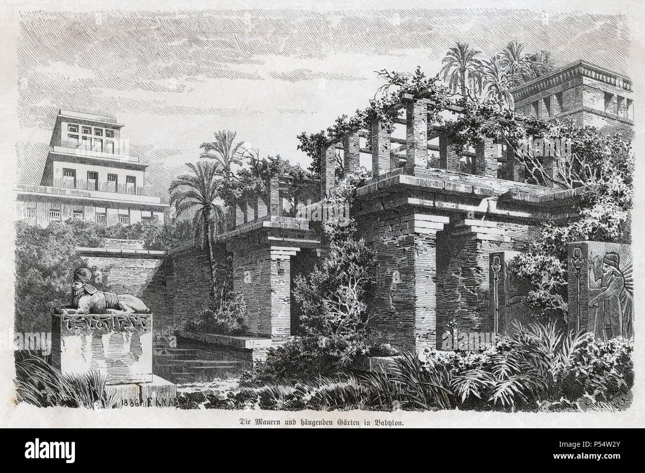 Historia antigua las siete maravillas del mundo antiguo for Los jardines del califa