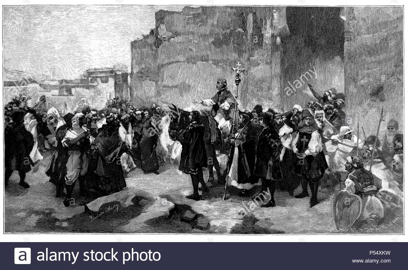 Pacificación de los moriscos por el arzobisbo fray Hernando de Talavera ( 1428-1507)