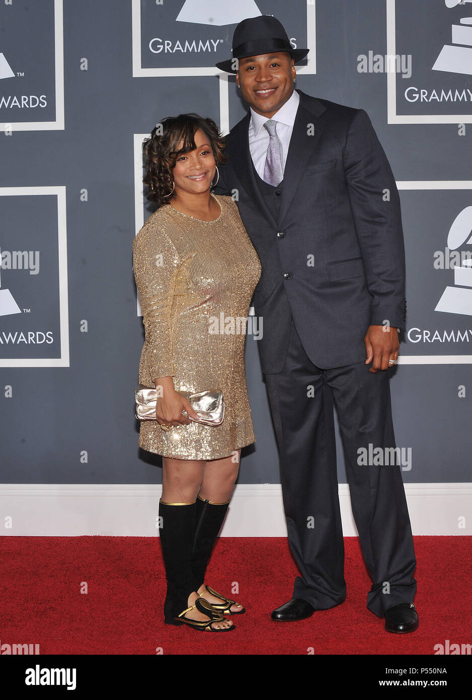 0843c3e00df40 LL Cool J and wife  1003 - 52nd Annual GRAMMY Awards at the convention  Center In