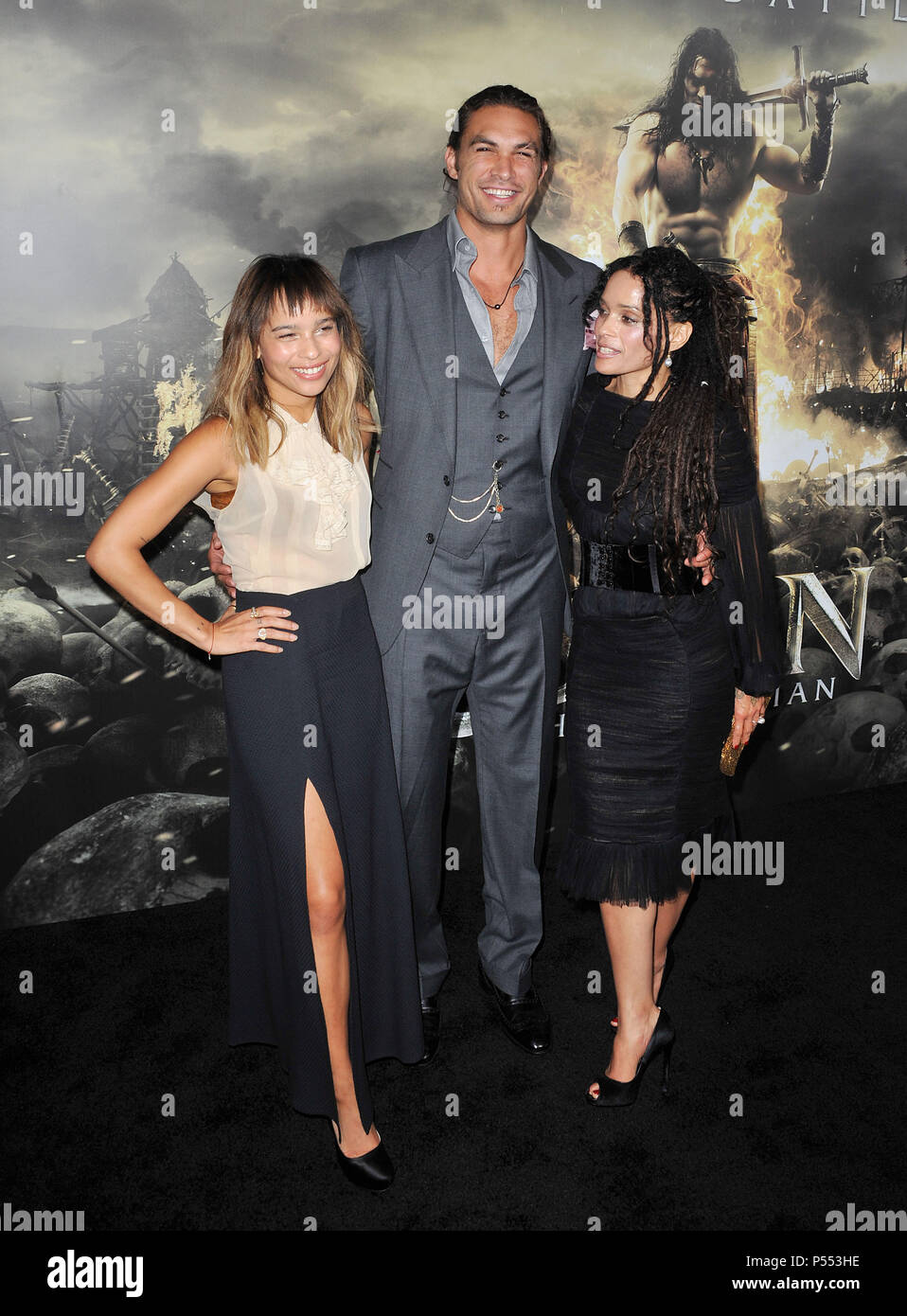 Zoe Kravitz Jason Momoa Lisa Stock Photos Zoe Kravitz