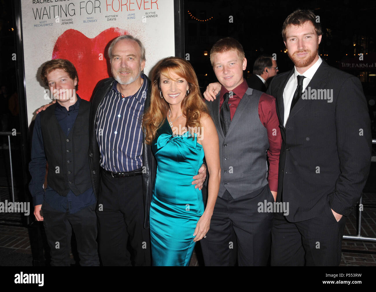 Jane Seymour And Children High Resolution Stock Photography And Images Alamy