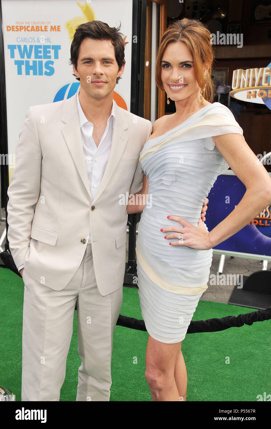 James Marsden divorce: Lisa Linde and X Men star enjoy ...  James Marsden And Family