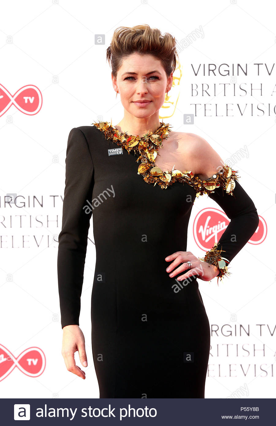 File photo dated 13/05/18 of Emma Willis, who says she has imposter syndrome and worries that her work will dry up despite her success as a TV presenter. - Stock Image
