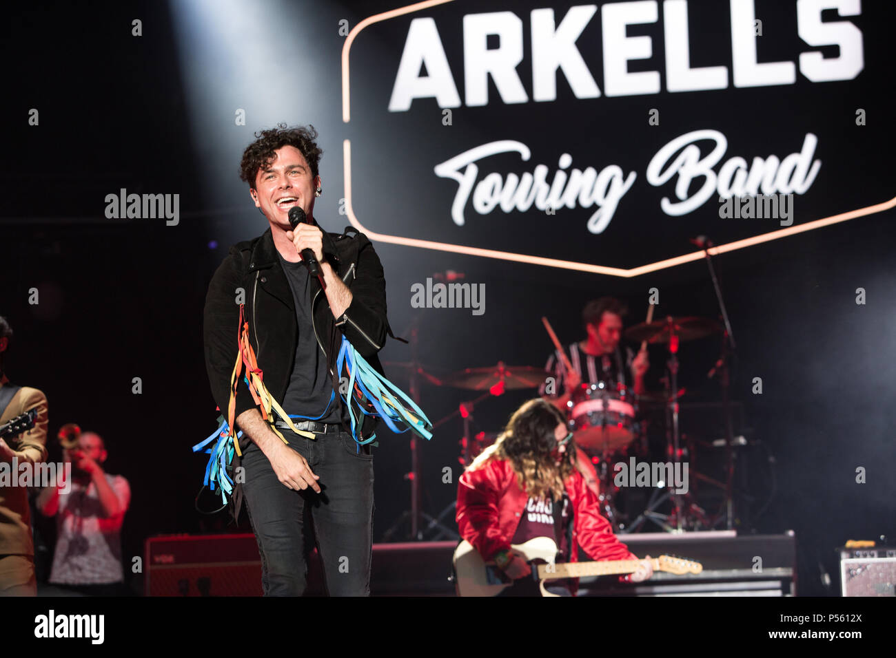 Arkells host The Rally in their hometown of Hamilton, Ontario - Stock Image