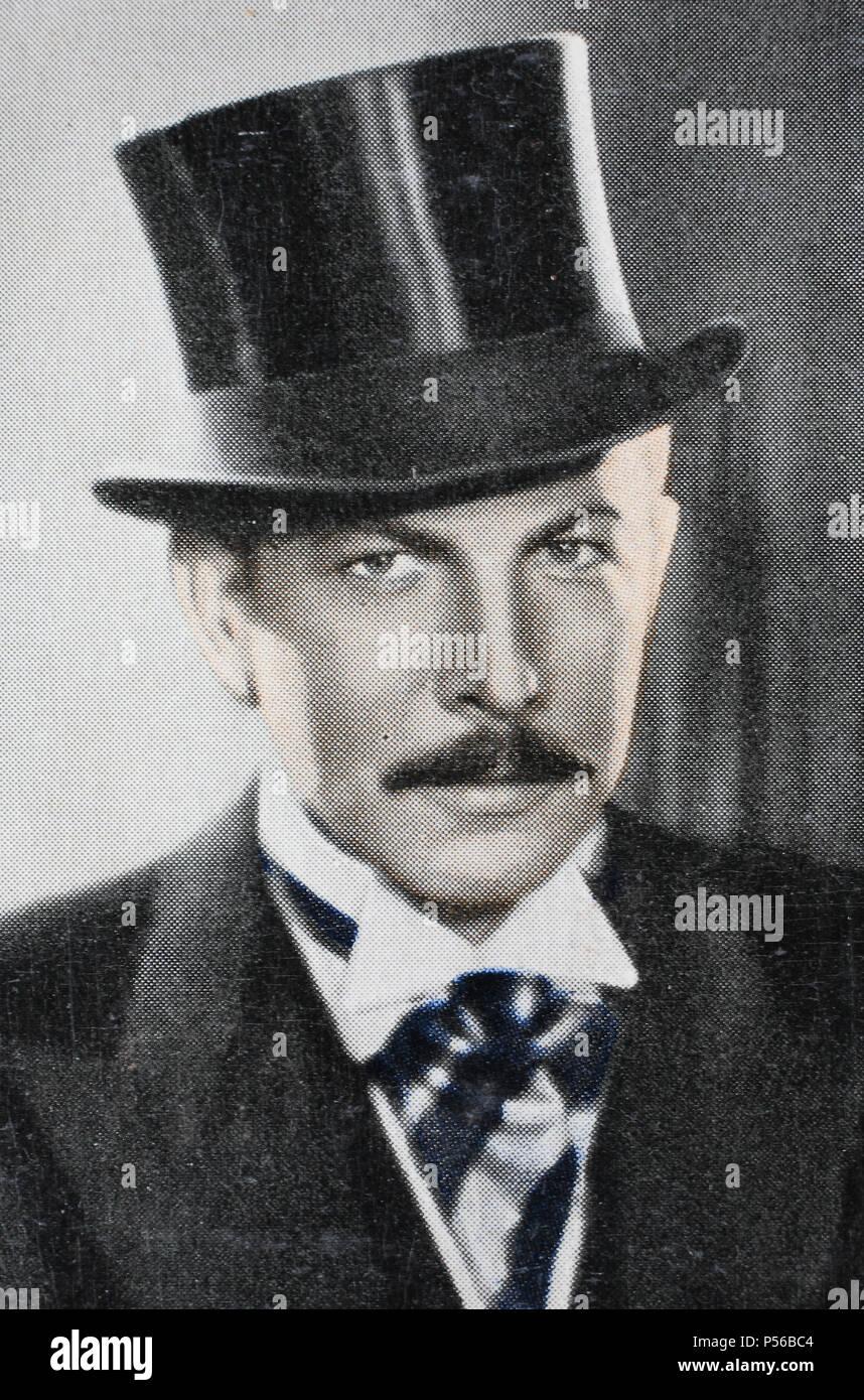 """""""Karl Heinrich Heilinger (born 28. Jänner 1899 in Wien; died nach 1944) war ein österreichischer Schauspieler bei Bühne und Film"""", digital improved Stock Photo"""