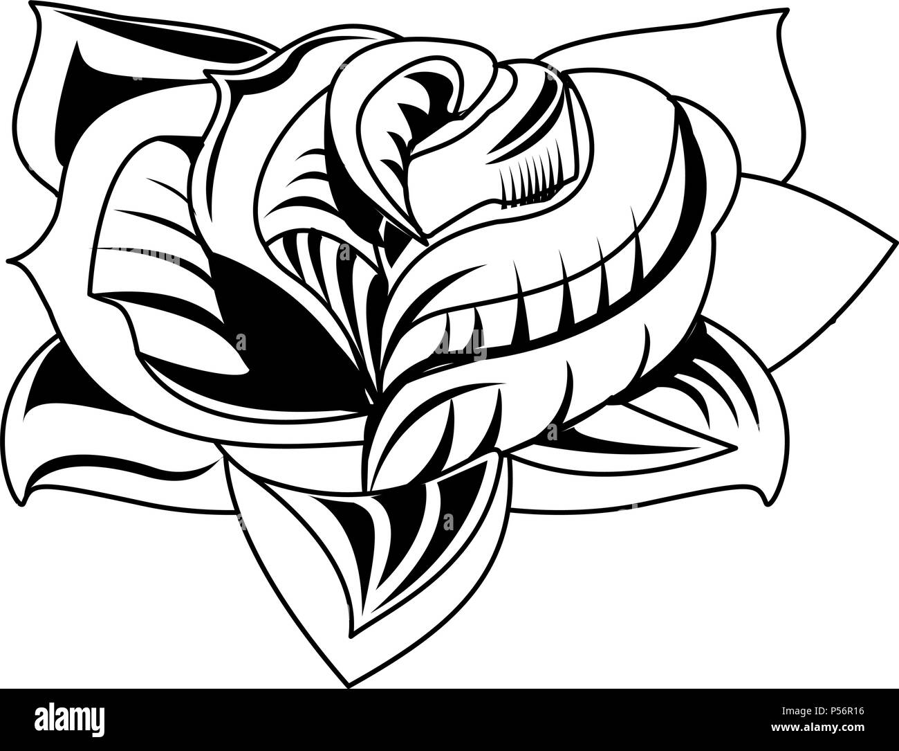 Old Tattoo Black And White Stock Photos Images Alamy