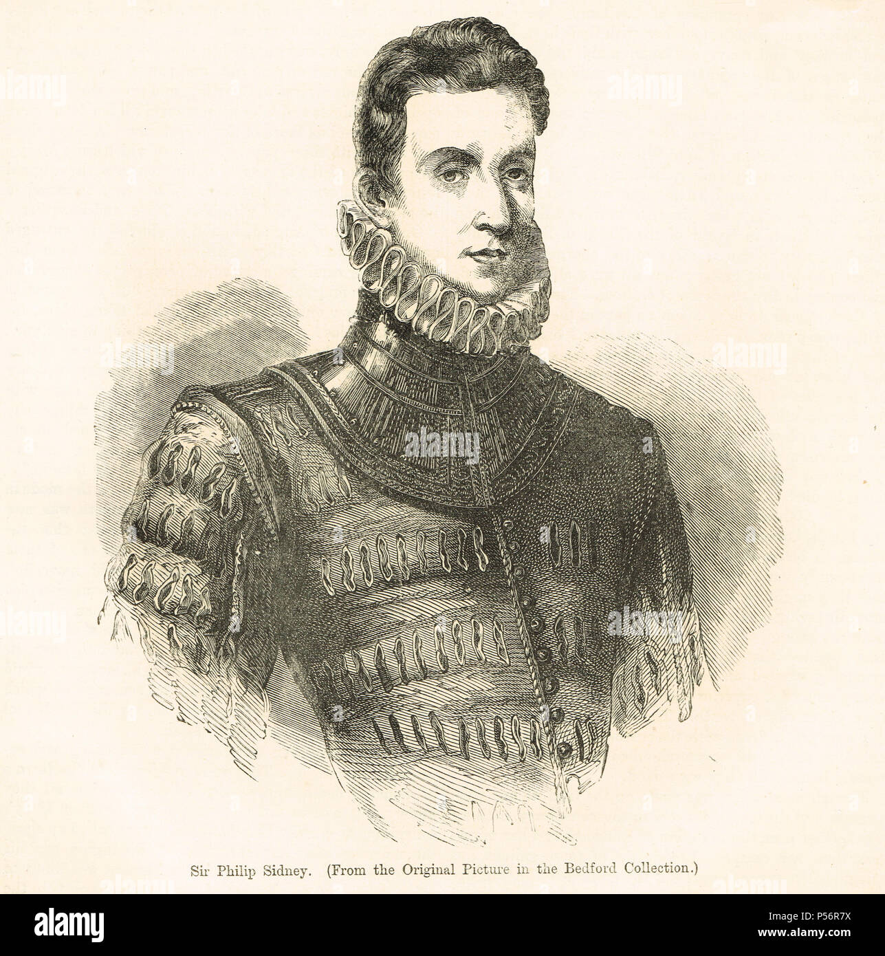 Sir Philip Sidney, English poet, courtier and soldier - Stock Image