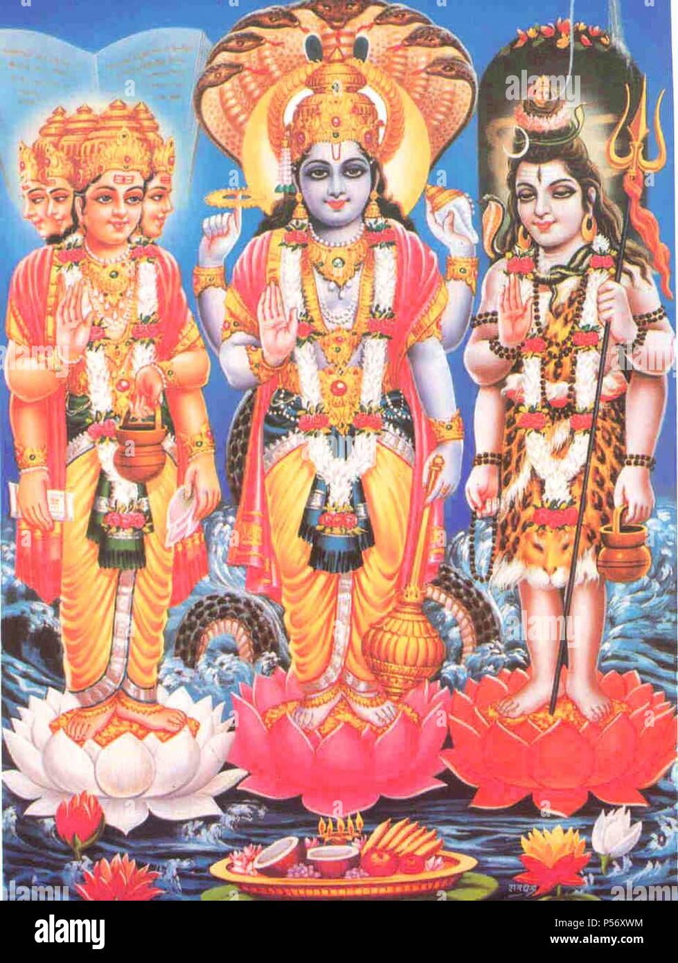 brahma vishnu maheshwara hd