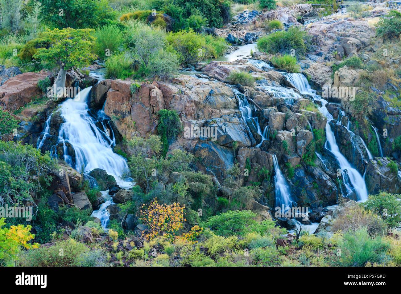Epupa Falls, Kunene, Kunene Region, Namibia - Stock Image