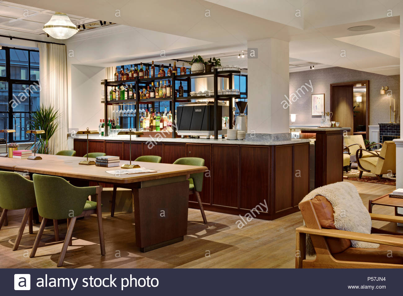 office kitchenette. Kitchenette Interior Of Mortimer House, Fitzrovia. Fitzrovia, United Kingdom. Office